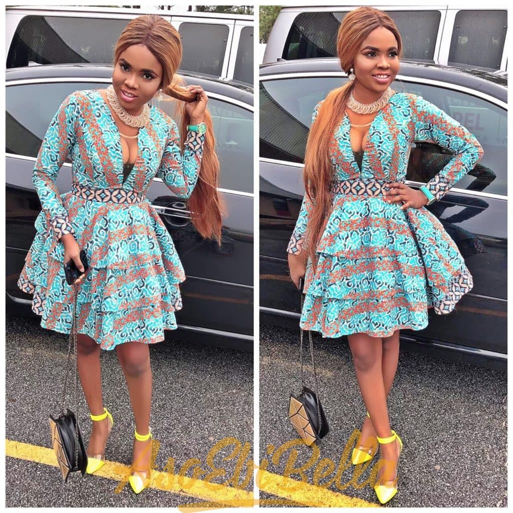 #EbFabLook Vol 47: Try This New Ladies Aso-Ebi Style 2020