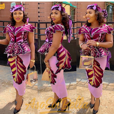 49 Edition of #ebfablook – Shop These New Aso ebi Lace style & African Print Trend 2020