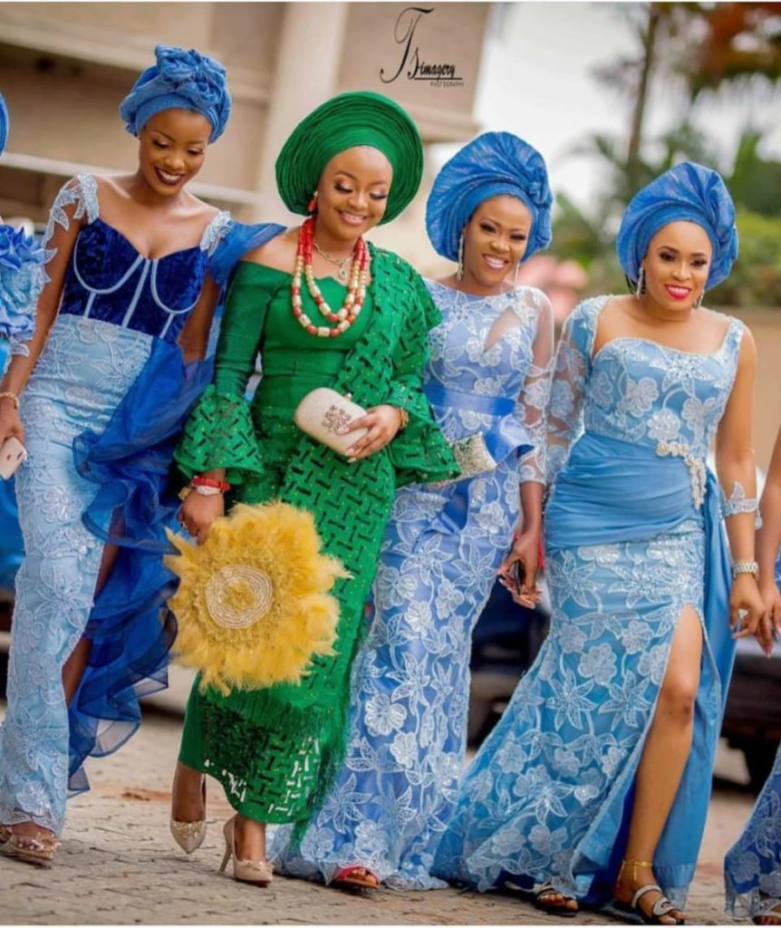 75 Edition Of #Ebfablook – Aso Ebi Lace Style and African Print Outfits To look Super Beautiful & Trendy