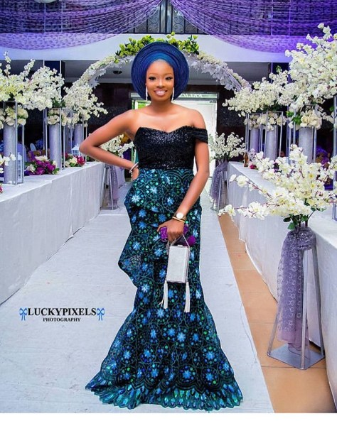 Aso-ebi Lace Styles For Wedding Guests 2020