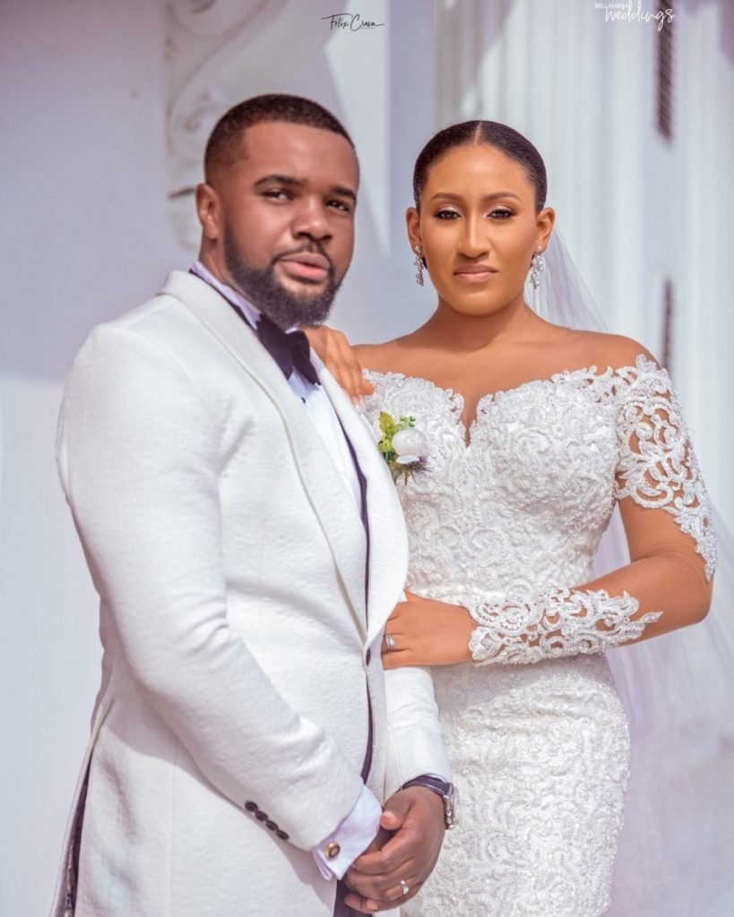 All The Sweet Love at the #WilliamsGotTheOscar White Wedding in Lagos