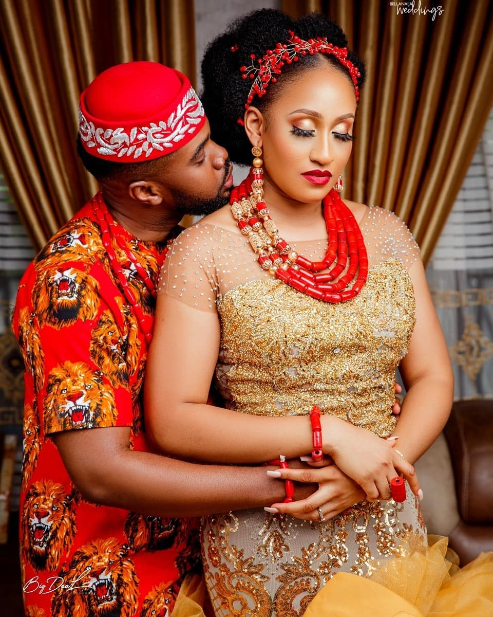 We're Dripping Over Brunella Oscar & Williams Uchemba's Traditional Wedding Photos