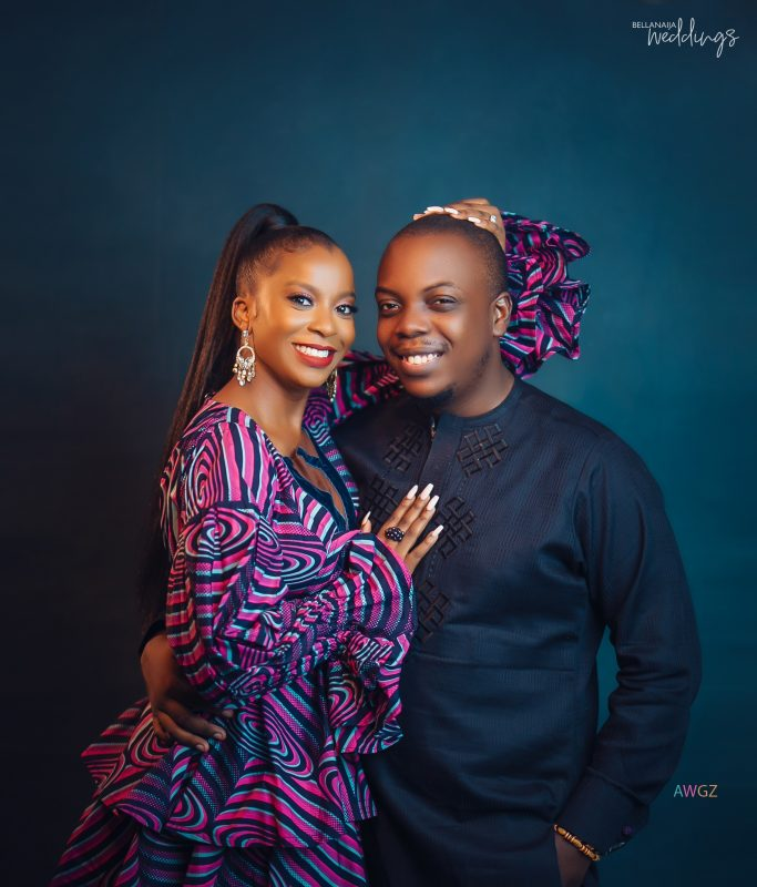 Two Games Night Led to Ife & Segun's Happy Ever After! See The #thisISlove21 Pre-wedding Shoot